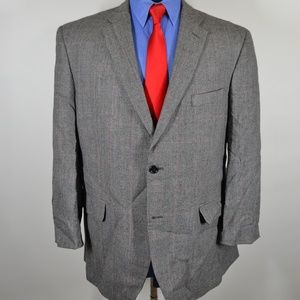Jones New York 46R Sport Coat Blazer Suit Jacket G